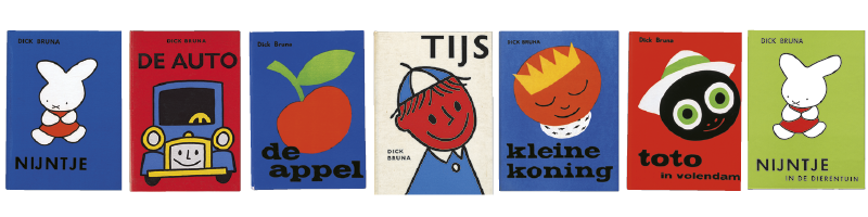 Dick bruna his books for Less is more boek